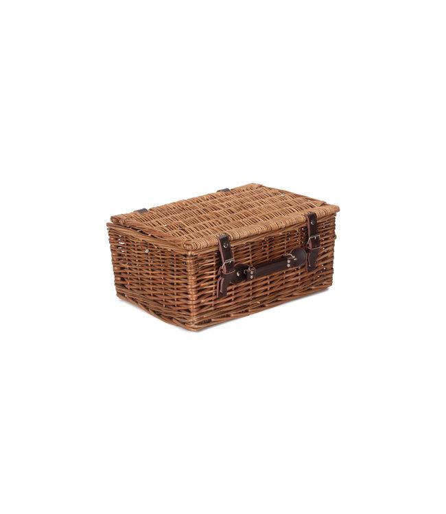 Picknickkoffer 6 Personen Leeg - Opbergmand met Handvat - Geschikt als Picknickmand Leeg - 41 x 30x 19cm