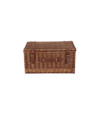 Picknickkoffer 6 Personen Leeg - Opbergmand met Handvat - Geschikt als Picknickmand Leeg
