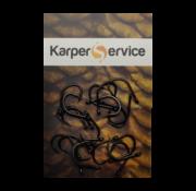 Karper Service Wide-gape haak | maat 8 | 20pcs | Karper Service