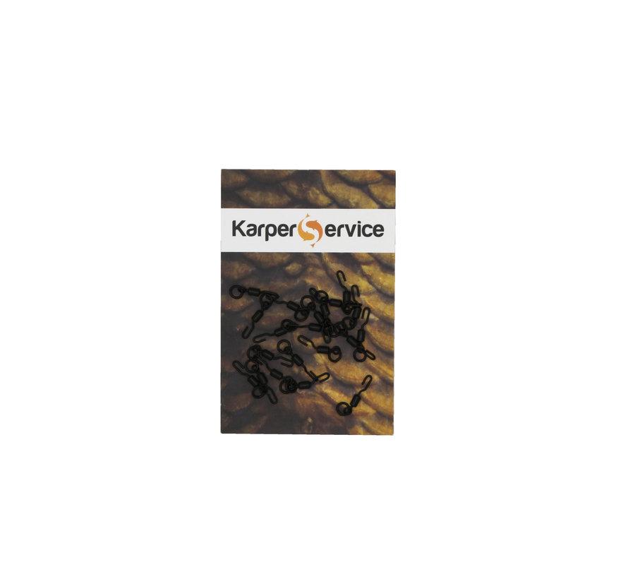 Spinner swivel | maat 11 | 20pcs | Karper Service