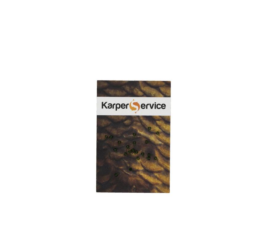 Hook beads | 20pcs | Green | Karper Service