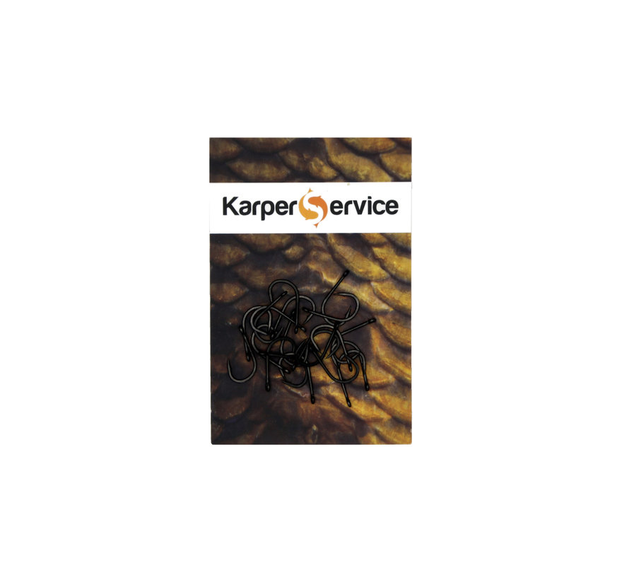 Classic haak | maat 8 | 20pcs | Karper Service