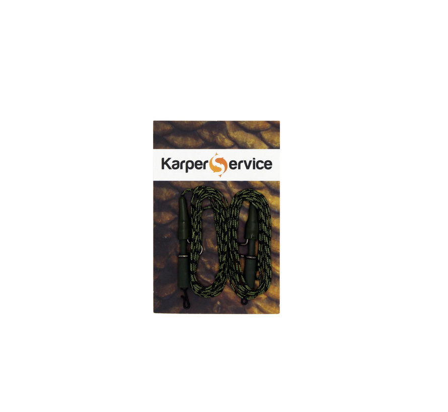 Leadclip leader | Readymade | 40lbs | 2pcs | Karper Service