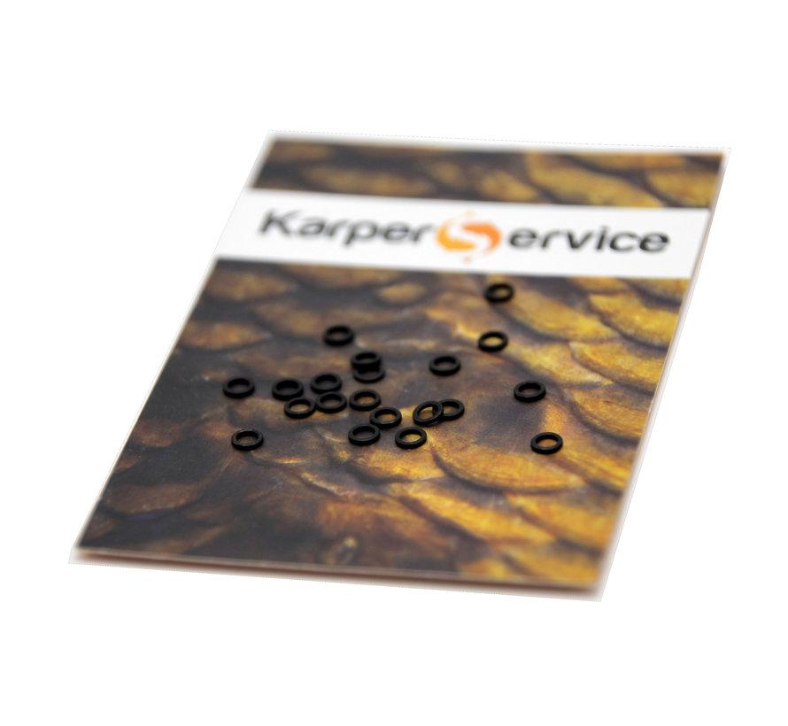 Rig rings | 3.7 mm | 20pcs | Karper Service