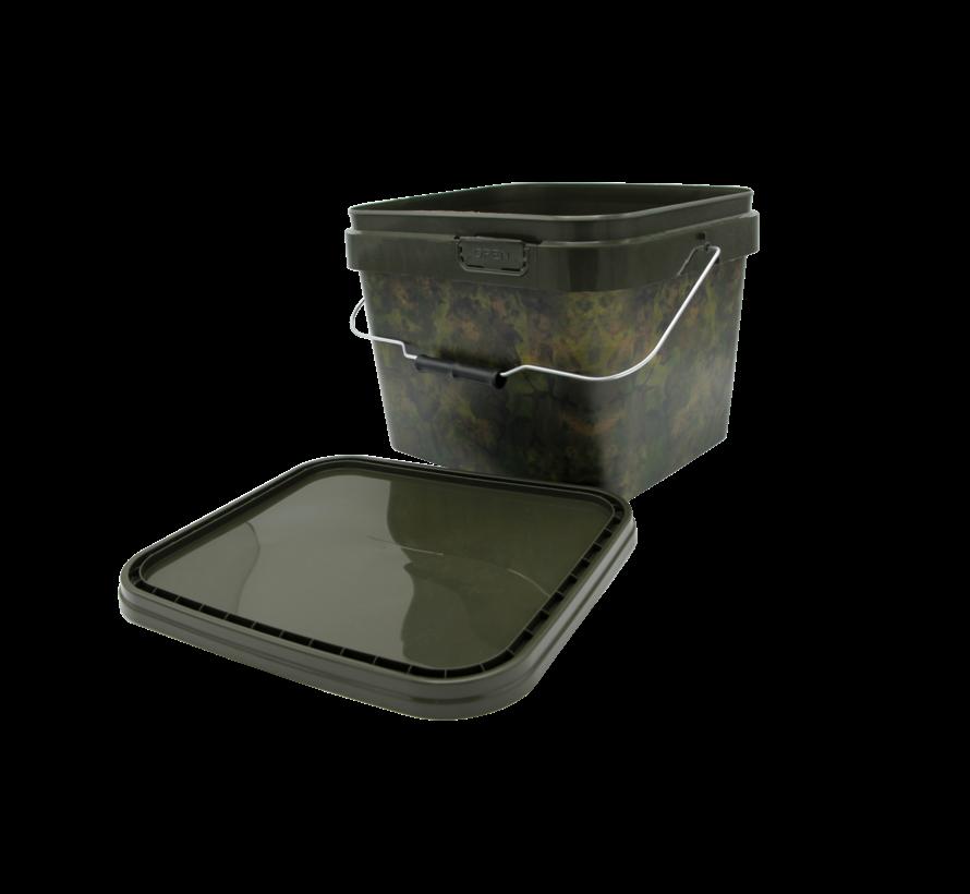 Green Camo Bucket | 10 L | Karper Service