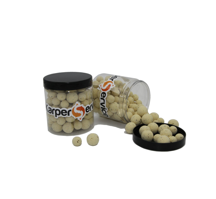 Milky B popups | 80 gram | 12 & 15mm | Karper Service