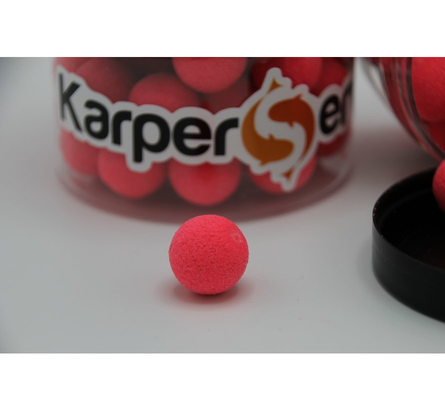 Bubblegum popups | 50 gram | 15 mm | Karper Service