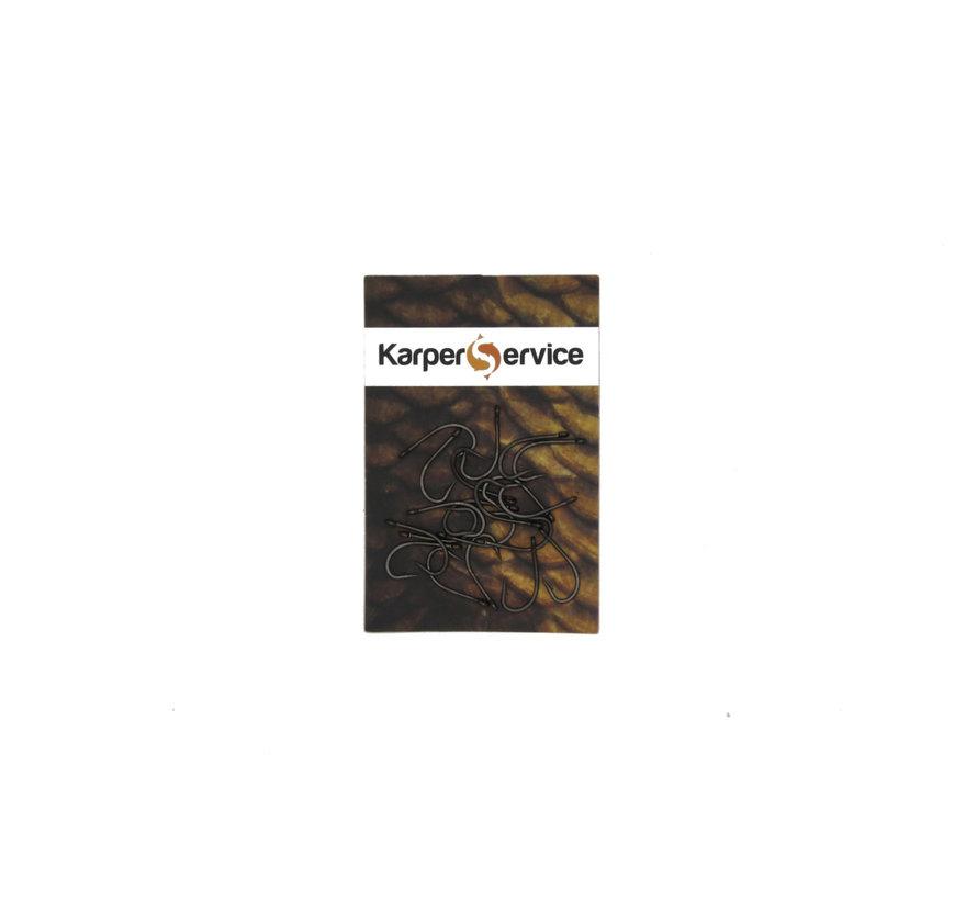 Super Strong hooks | Maat 8 | 20pcs | Karper Service