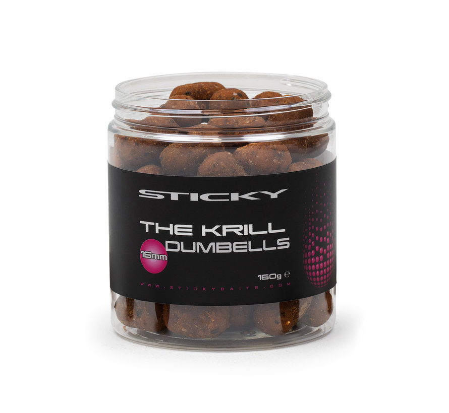 The Krill Dumbells 16mm 160g Pot
