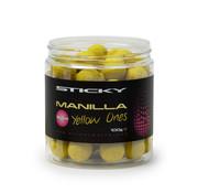Sticky Baits Manilla Yellow Ones 16mm 100g Pot