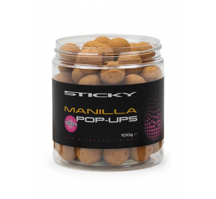 Manilla Pop-Ups 16mm 100g Pot