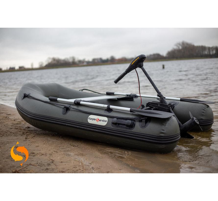Rubberboot | 230 | 0,9mm pvc | Army green | Karper Service
