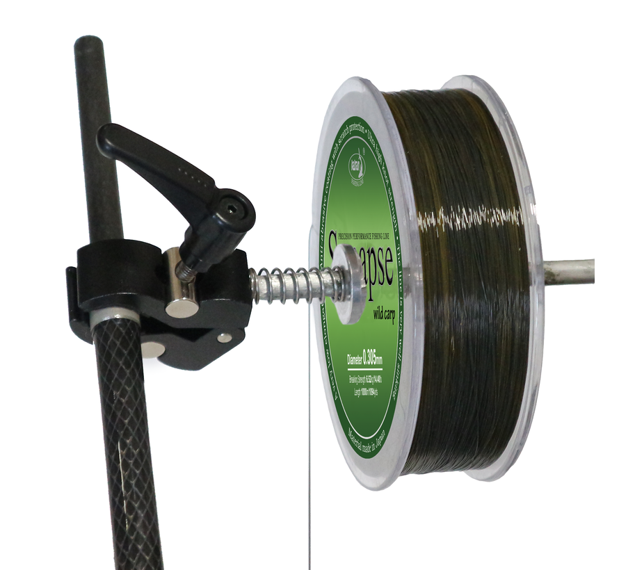 Line spooling tool (clamp)