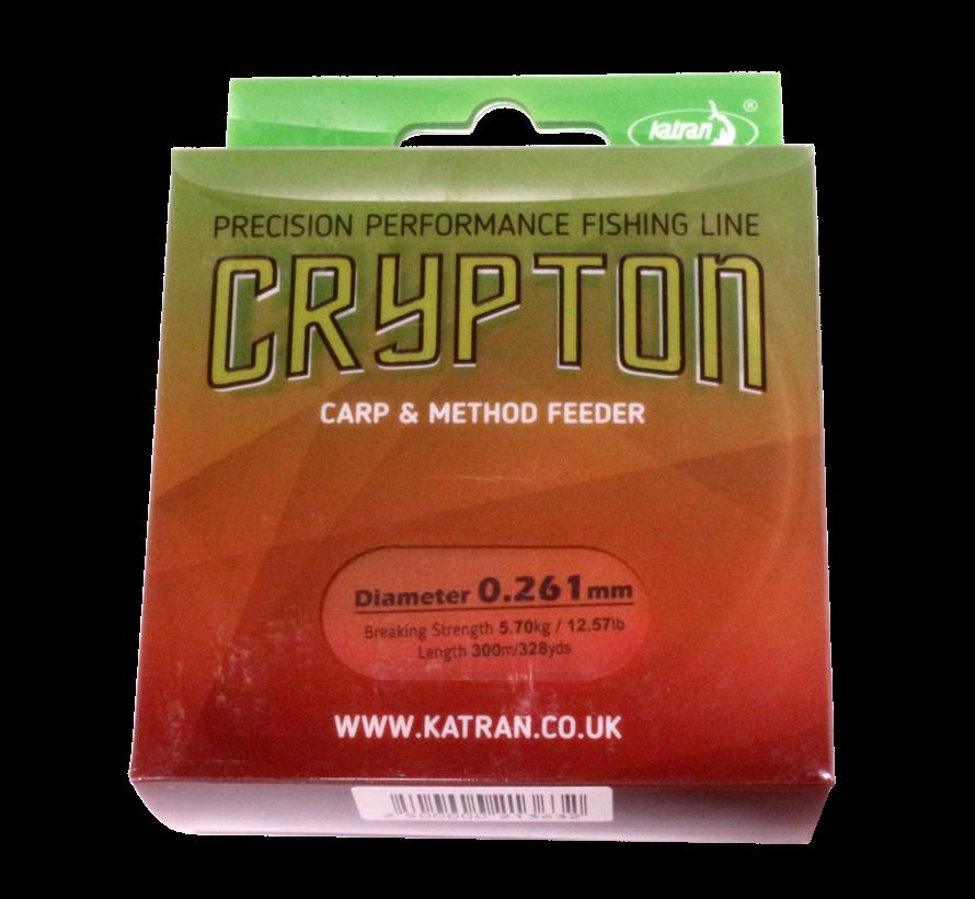 Fishing Line Crypton Carp & method feeder 0,261 mm | 5,70 kg | 300 m