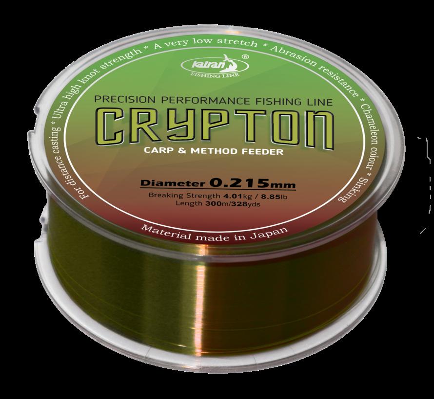 Fishing Line Crypton Carp & method feeder 0,215 mm | 4,01 kg | 300 m