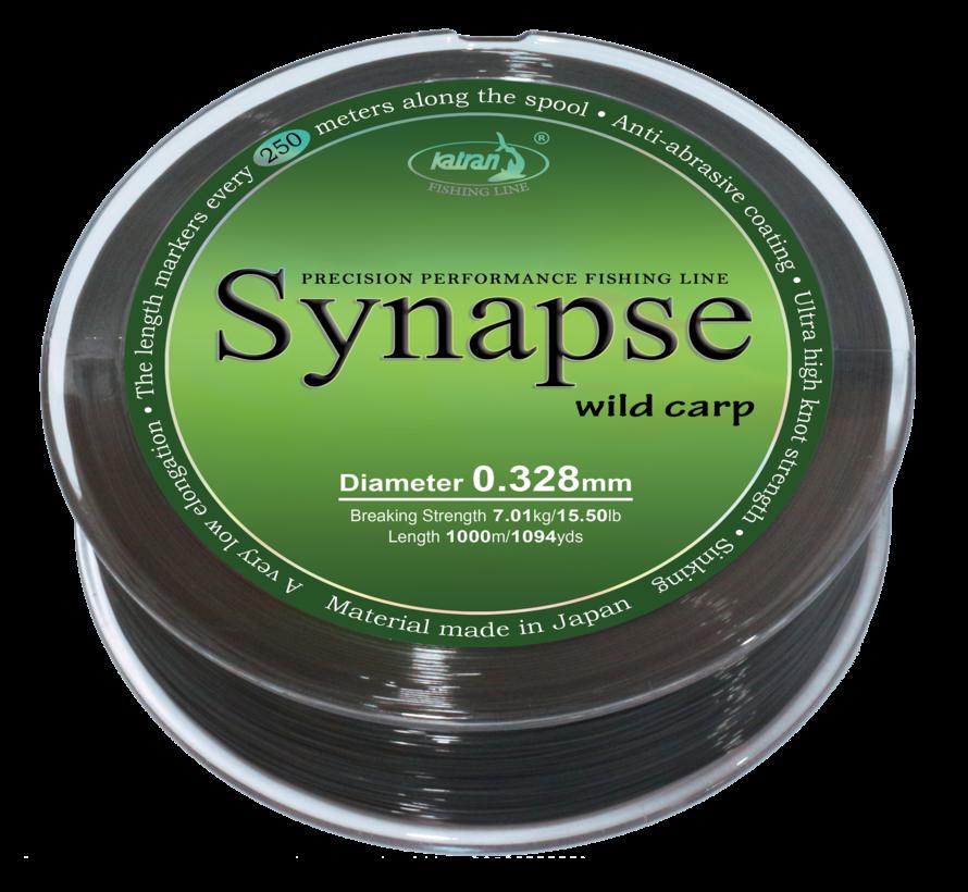Fishing Line SYNAPSE wild carp 0,328 mm | 7,01 kg | 1000m