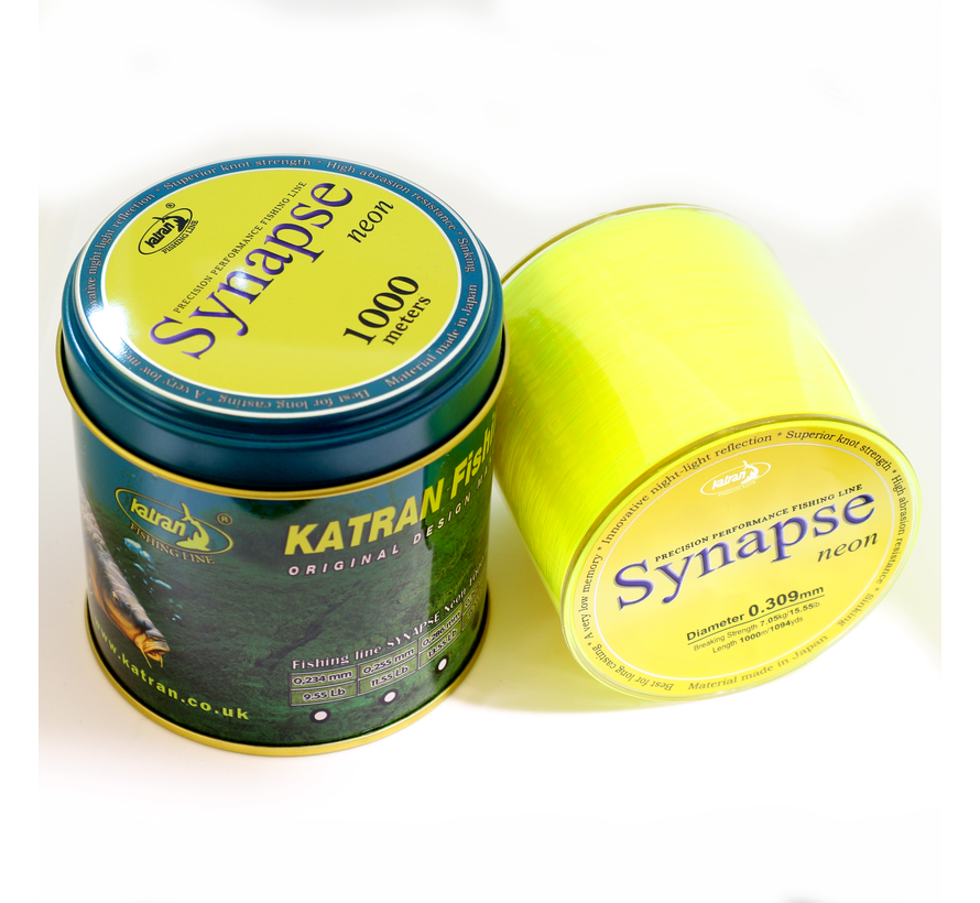 Fishing Line SYNAPSE Neon 0,371mm | 9,70  kg | 1000m