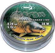 Katran Fishing Fluorocarbon 100% FANTOM 0.28 mm | 5,15 kg | 30 m
