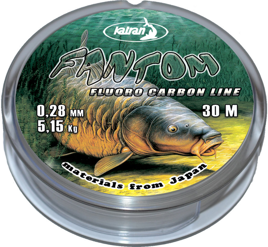 Fluorocarbon 100% FANTOM 0.28 mm | 5,15 kg | 30 m