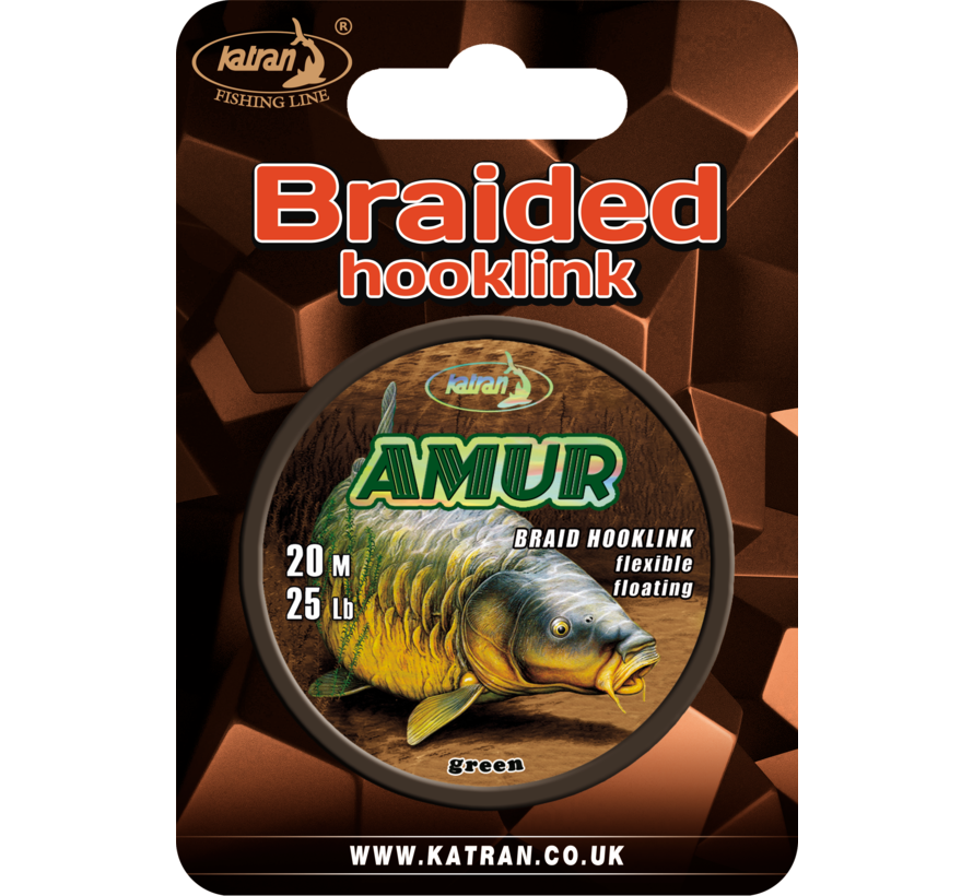 Braided hook links AMUR 25lb | 20 m