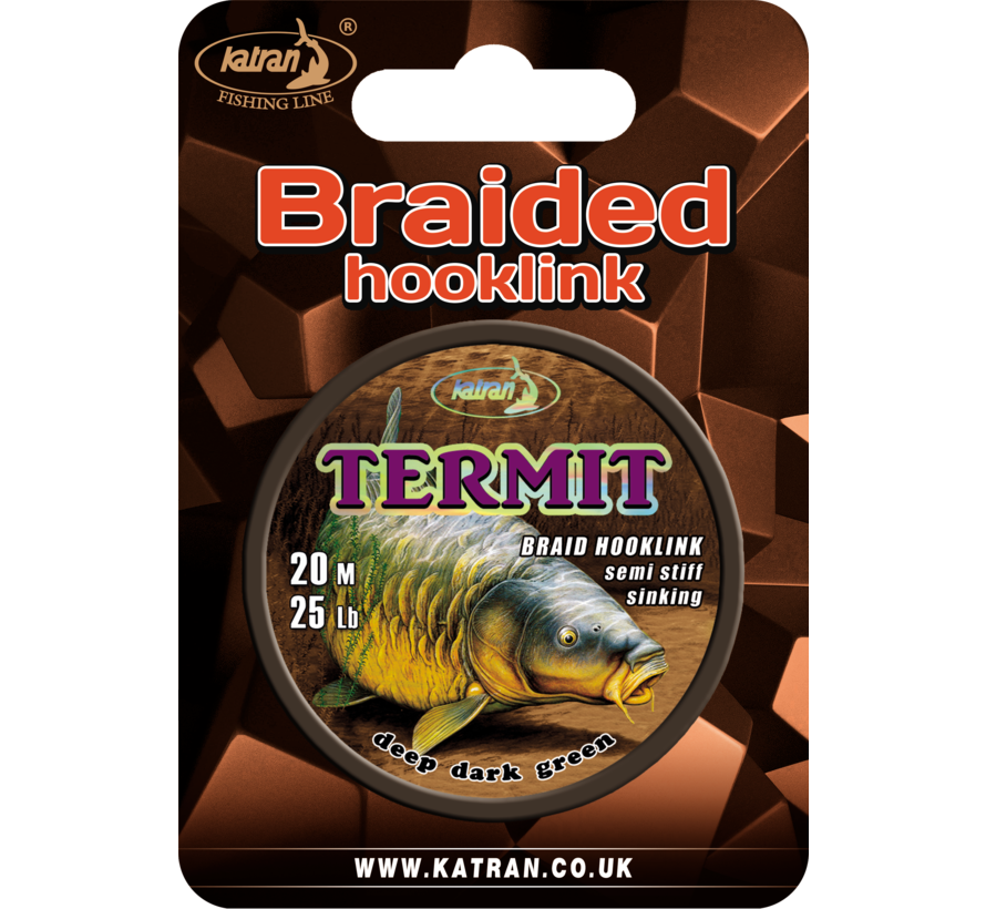 Braided hook links TERMIT 25lb | 20 m