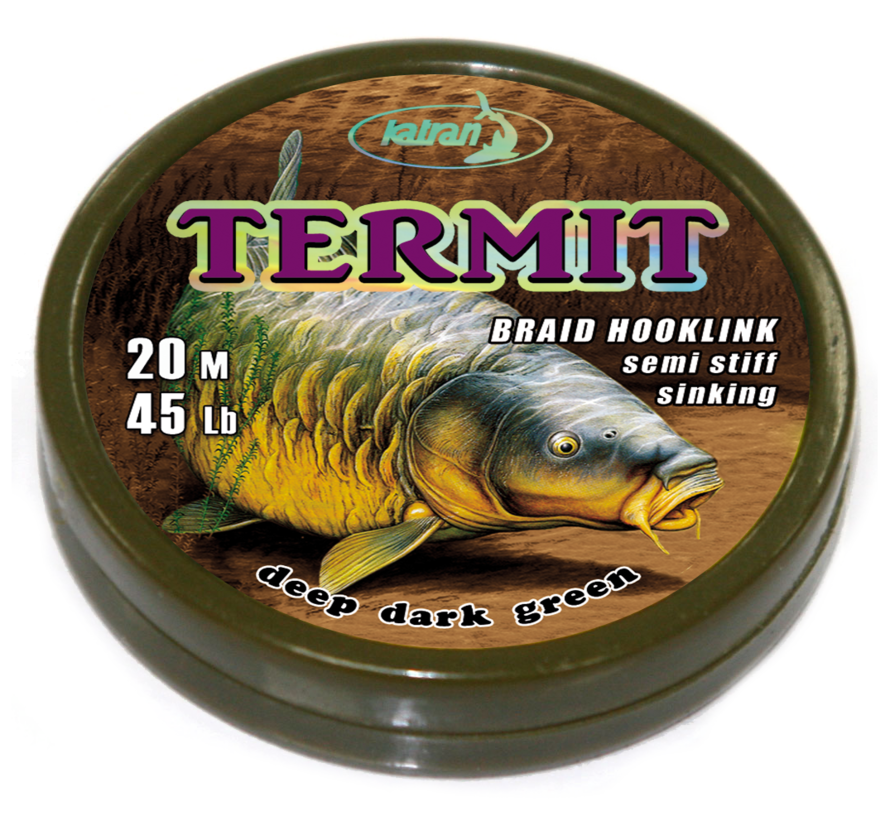 Braided hook links TERMIT 45lb | 20 m