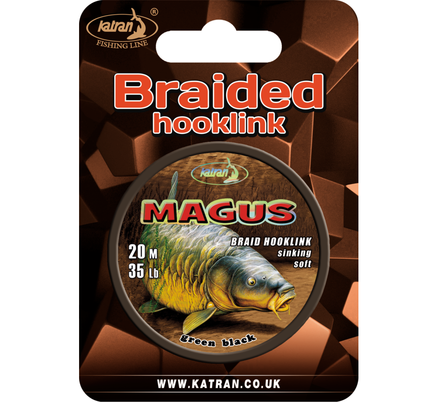 Braided hook links MAGUS 35lb | 20 m