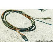 Katran Fishing Chain core COMODO camo green black 70 cm 3 pcs | 70  m