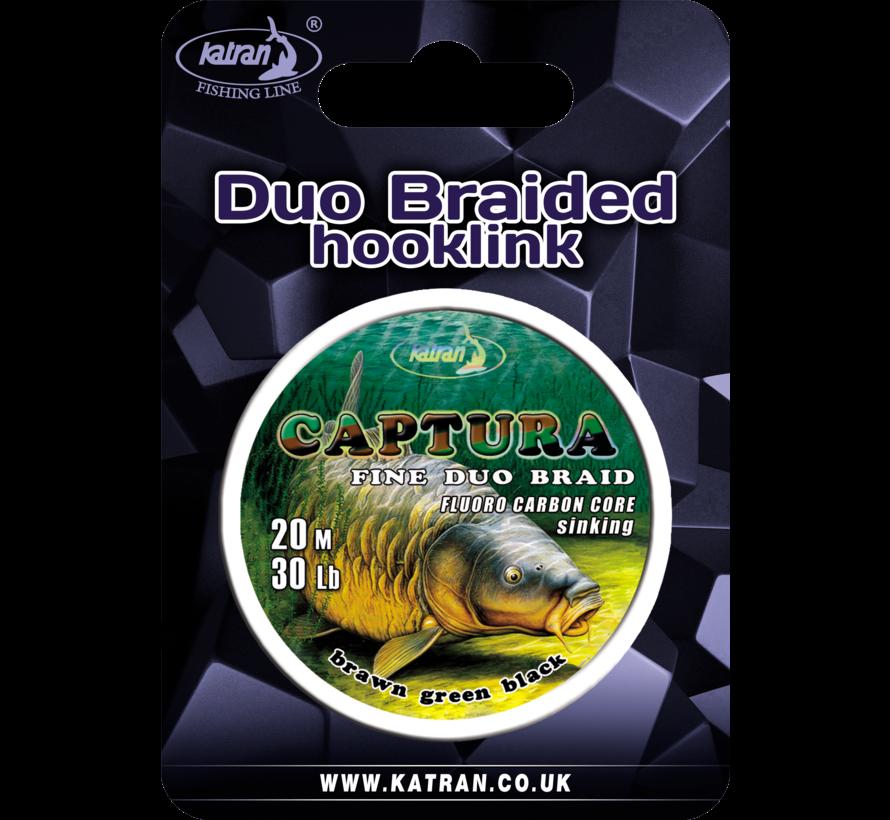 Duo braided hook links CAPTURA 30Lb | 20 m