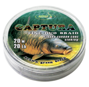 Katran Fishing Duo braided hook links CAPTURA 20Lb  | 20 m