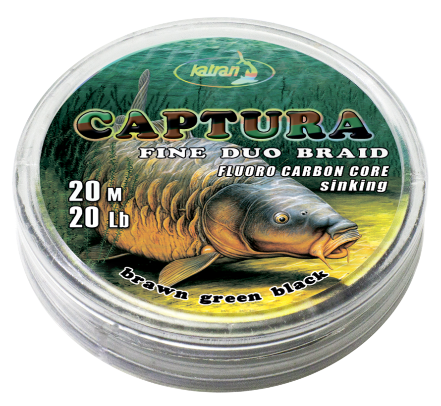 Duo braided hook links CAPTURA 20Lb  | 20 m