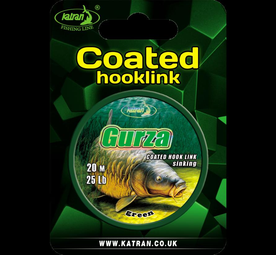 Coated braided hook links GURZA 25Lb | 20 m