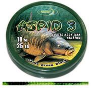 Katran Fishing Coated braided hook links ASPID 3 25Lb  | 10 m