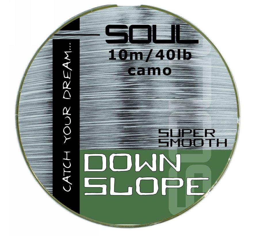 Down Slope | 10 M | 40 Lbs | leader materiaal | Soul