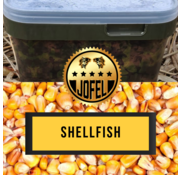 Jofelbaits Kant- en klare | Mais | Shellfish | 10 Liter | Inc. emmer | Jofelbaits