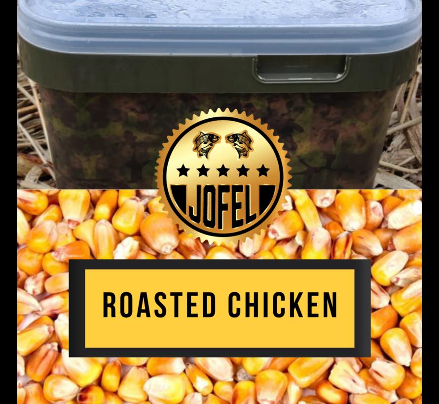 Kant- en klare   Mais   Roasted Chicken   10 Liter   Inc. emmer   Jofelbaits