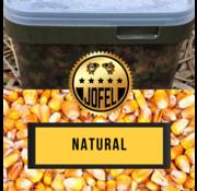 Jofelbaits Kant- en klare | Mais | Natural | 10 Liter | Inc. emmer | Jofelbaits