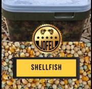 Jofelbaits Kant- en klare | Partical mix | Shellfish | 10 Liter | Inc. emmer | Jofelbaits