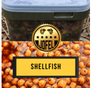 Jofelbaits Kant- en klare | Tijgernoten | Shellfish | 10 Liter | Inc. emmer | Jofelbaits
