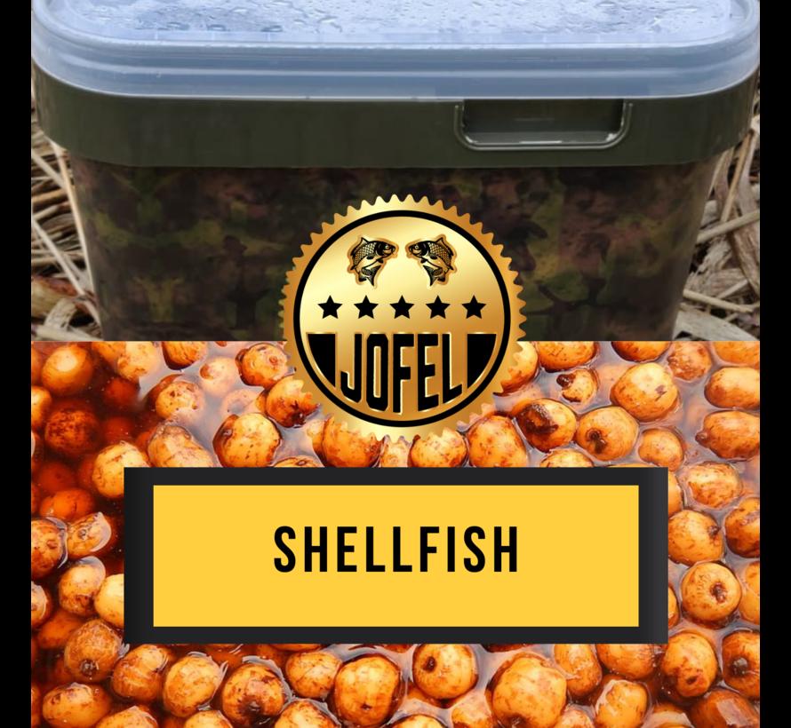 Kant- en klare | Tijgernoten | Shellfish | 10 Liter | Inc. emmer | Jofelbaits