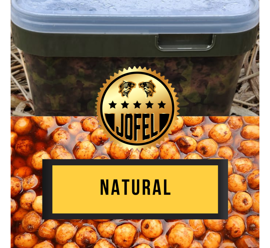 Kant- en klare | Tijgernoten | Roasted Chicken  | 10 Liter | Inc. emmer | Jofelbaits