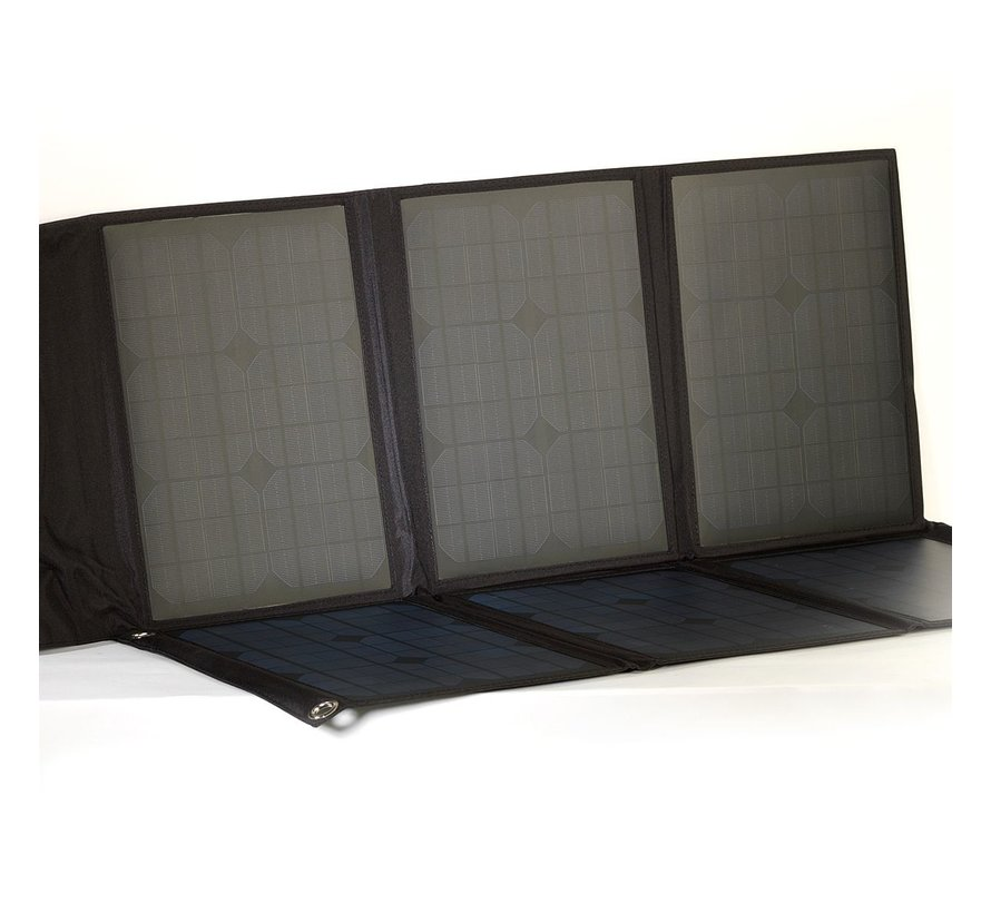 Foldable solar panel 60/100/300 Wp incl. controller
