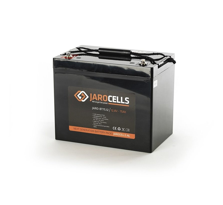 12V 9/10/12/20/50/75/100/125 Ah Jarocells battery pack