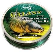 Katran Fishing Taper mono shock leader GALAXY cast 0,28-0,47 mm