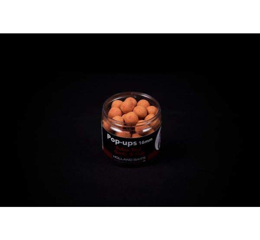 Pop-up | Robinred Garlic & Fish | Holland Baits