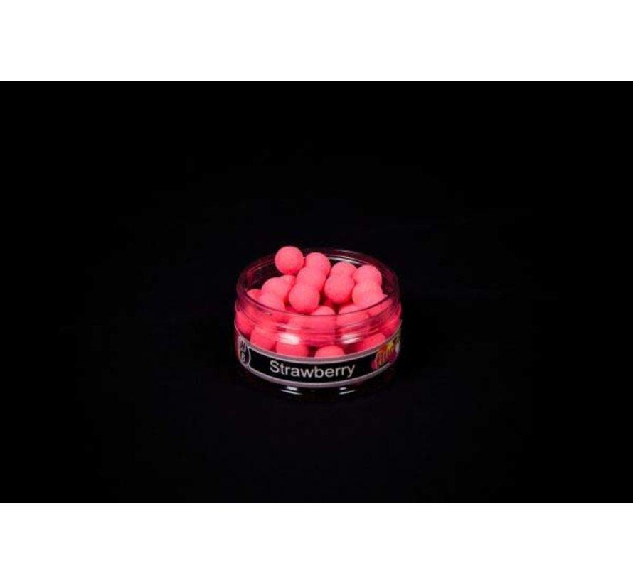 Fluoro Pop-up   Strawberry   Holland Baits