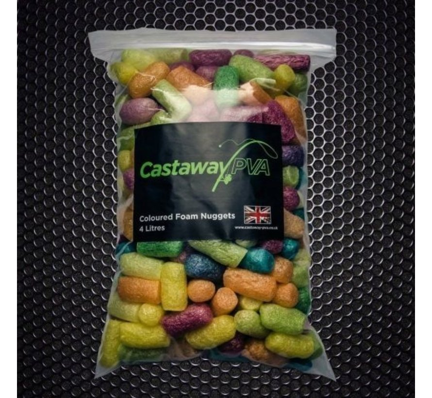 Coloured Foam Nuggets | 4l | Castaway