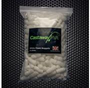 Castaway PVA White Foam Nuggets | 4l | Castaway