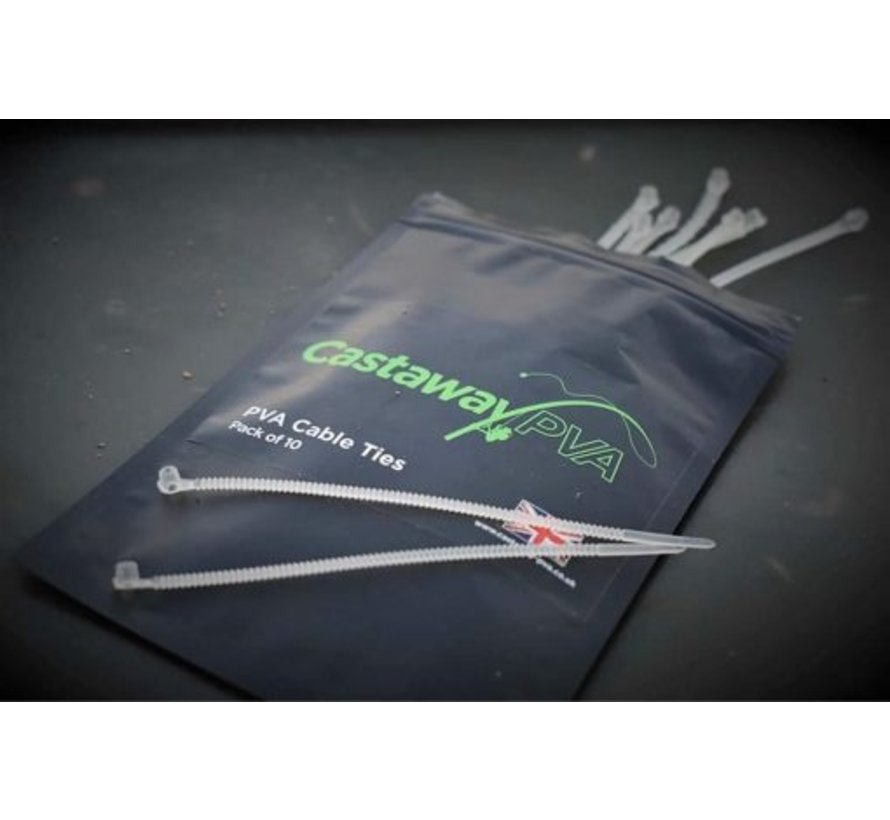 Small Bag loader kit 25 solid bags and 25 cable ties | Castaway