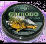 Katran Fishing Chain core COMODO camo green black 80 lb | 5 m